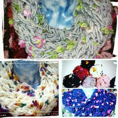 Cowl Scarf, Crochet, Floral, Handmade, Chrochet, Hand Made, Hooded Scarf, Crocheting, Flowers