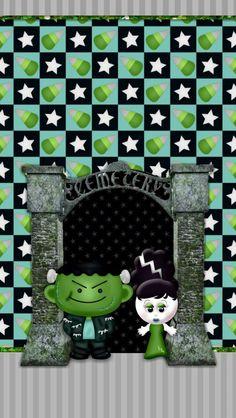 Halo Halloween, Halloween Artwork, Halloween Wallpaper, Holidays Halloween, Halloween Crafts, Halloween Decorations, Witchy Wallpaper, Holiday Wallpaper, October Wallpaper