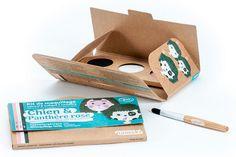 Kit de maquillage Bio Namaki : Chien et panthère rose
