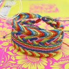 hand made colorful bracelets, friendship, colors, macrame