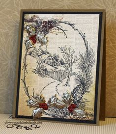 Stampendous and Add a Little Dazzle Blog Hop Day 5 | Creatively LA