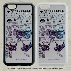 awesome One Direction Tattoos for iPhone 6-6S Case iPhone 6-6S Plus iPhone 5 5S SE 4-4S HTC Case Samsung Galaxy S5 S6 S7 and Samsung Galaxy Other