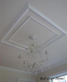 Ceiling molding | Ceiling Molding Ideas - Ceiling Tile Ideas | Decorative Ceiling Tiles ...