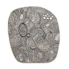 Iris Bodemer Brooches: Relief II, 2013 Silver 40 x 48 x cm 34 Brooches Contemporary Jewellery, Modern Jewelry, Jewelry Art, Silver Jewelry, Vintage Jewelry, Handmade Jewelry, Jewelry Design, Geek Jewelry, Silver Pendants