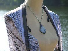 ~ Boho Chic Statement Necklace ~  Handmade in Atlanta, GA www.etsy.com/shop/bohemiansagejewelry