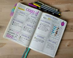 Bullet Journaling as a Busy Student with @greenishplanning – Pretty Prints & Paper