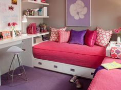 cute idea for the girls room