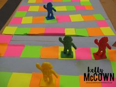 Kelly McCown: End of Year Math Game Board Project