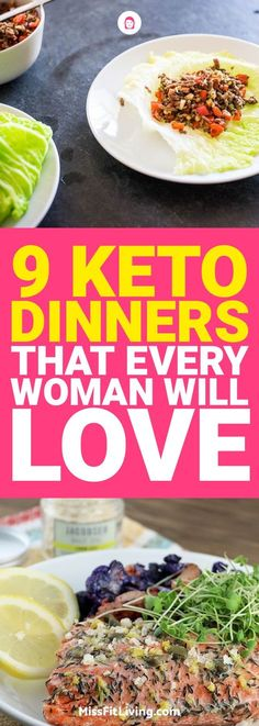 If you want some ketogenic recipes that you can make for dinner here are 9 awesome ones that you'll love.