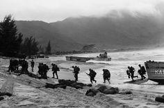da nang, u.s. marines, viet cong guerrillas, the vietnam war