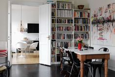 Ikea 'Billy' shelves