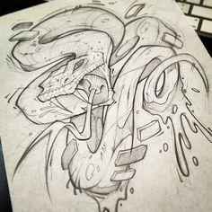 LUNCH SCRIBBLES by Craig Patterson - Absorb81, via Behance