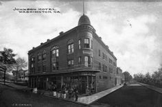 Johnson Hotel, Washington, Ga. Is this the building that is now the Fitzpatrick Hotel?