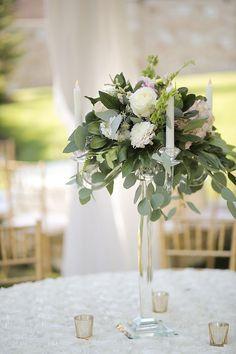 Garden Chic Tented Utah Wedding