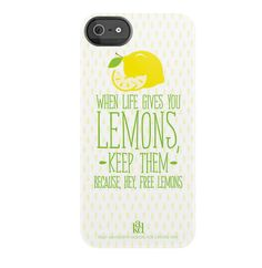 iPhone Case When Life Gives You Lemons by ShopCF on Etsy, $42.00