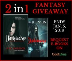 Enter to win Darkwater by DW Johnson. Win the book and publish your #bookreview of Darkwater on your blog to receive Shadowmage, the second installment in the Xenkur Chronicles!                                                       ENTER TO WIN  Let us know why you would like to read this book and why you like #fantasy titles. Good luck!