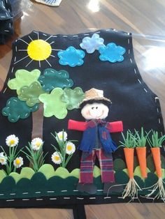 Colete Festa Junina                                                                                                                                                      Mais Country Dresses, Apron, Baby Kids, Diy And Crafts, Patches, Quilts, Blog, Inspiration, Bento