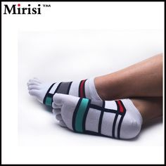 All-match Deodorant anti-slip combed cotton five finger socks made in china Henan,China