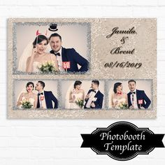 Wedding Photo Booth, Wedding Photos, Wedding Ideas, Photo Booth Business, Photobooth Template, Under The Ocean, Ocean Party, Photo Thank You Cards, Photo Booth Frame