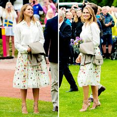 """jacksdawsn: """" """" Princess Madeleine attends a concert at the 39th birthday celebrations for Crown Princess Victoria on July 14, 2016 in Oland, Sweden. """" """""""