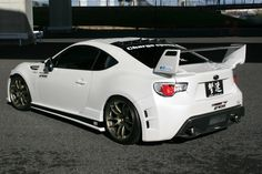 Aftermarket Subaru BRZ spoiler. #sick - would love to race that