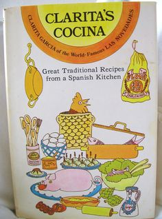 Vintage Book Spanish Cook Book Spanish Recipes by TwigAndPaper. I love this book have used it for years.