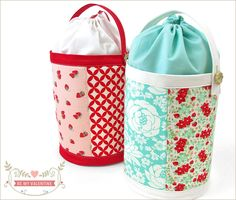 """Tutorial: """"Although we made our pretty samples with Valentine's Day in mind, this would make a lovely gift basket for any occasion. Simply change out the prints and colors to best match the event and/or recipient."""""""