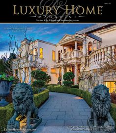 Luxury Home Magazine Seattle Issue 9.2   Front Cover Photography by Steven Young