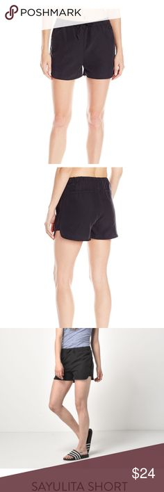 NEW Bench Sayulita Shorts Black XS New with tags. BENCH Sayulita Short in black. Women's extra small. Bench Shorts