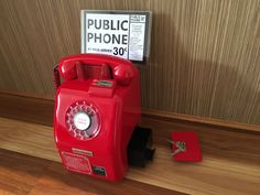 Red Victa Payphone