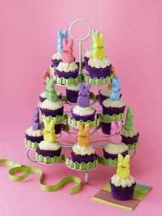 "Peeps ""24 Carrot"" Cupcakes - Marshmallow Peeps"