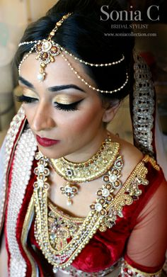 Sonia C, Bridal Stylist follow me on Instagram at soniacmakeup