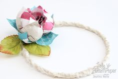 Follow this fun step by step tutorial to create a handmade flower wreath as I create something for a Mad Hatters Tea Party! Mad Hatter Tea, Mad Hatters, Handmade Flowers, Pattern Paper, Scrapbook Paper, Tea Party, Clever, Wreaths, Lady