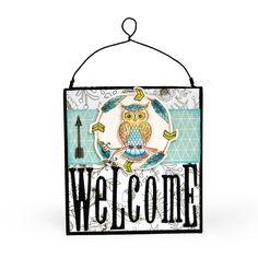 Welcome Owl Decor