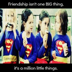 our millions little things (: v