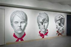 Artek Mural on Behance