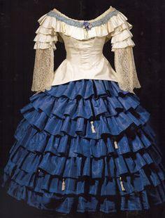 ¤ Costume for 'Chiarina' (1910). Designer: Leon Bakst.