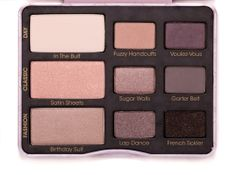 Too Faced Boudoir Eyes Shadow Collection