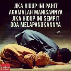Reminder Quotes, Quotes Indonesia, Muslim Quotes, Doa, Graphic Design Illustration, Spirituality, Feelings, Words, Islamic