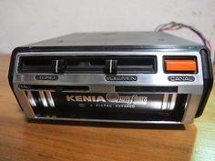 Antiguo pasa magazine Stereo 8 track player Kenia Modelo KM-300. Funcionando OK, correa nueva y cabezal limpio y desmagnetizado. Incluye dos...127851597