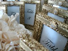 Weddings Wedding Table Numbers GATSBY Table Number by KPGDesigns, $49.95