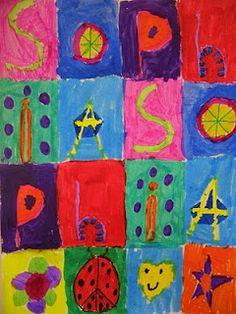 Name Patterns Inspired by Jasper Johns