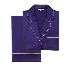 Journelle Hepburn PJ Set | @Journelle Fine Lingerie in #purple