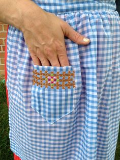 Alice Apron Pocket Vintage May One Little Minute Vintage May // The Alice Apron