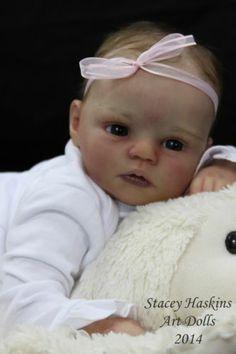 AMAZING reborn life like baby girl art doll prototype Sicily by Sherry Rawn   eBay