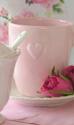 Pretty little Cup..Good Morning My Sweet Friends!!