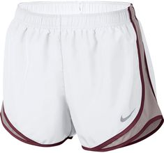 Nike Women's Nike Dry Tempo Running Short (White Size Small) - Women's Athletic Apparel, Women's Athletic Performance Bottoms at Academy Sports Sporty Outfits, Nike Outfits, Athletic Outfits, Athletic Wear, Athletic Shorts, Fall Outfits, Nike Shorts Outfit, Nike Running Shorts, Gym Shorts Womens