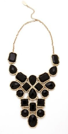 I have a black/white striped maxi dress that would make this statement necklace  come alive! Look at Wantable for more gorgeous accessories:)