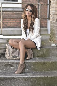 Love the blazer and shoes