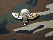 Old Senegal Airborne Parachutist Jump Wings